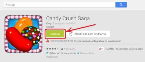 candy crush saga instalar