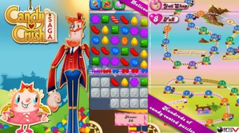 candy crush saga para facebook