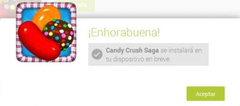 instalacion candy crush saga