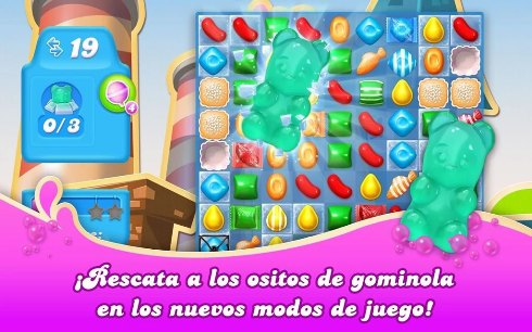 nuevo episodio en candy crush soda