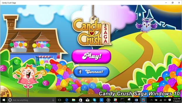 Actualizacion De Candy Crush Saga Para Windows 10
